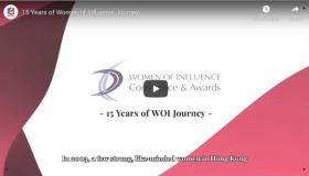 15 Years of Women of Influence Journey