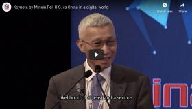 Keynote by Minxin Pei: U.S. vs China in a digital world